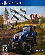 PLAYSTATION 4 FARMING SIMULATOR 15 BRAND NEW PS4 - FREE 1ST CLASS SHIPPING