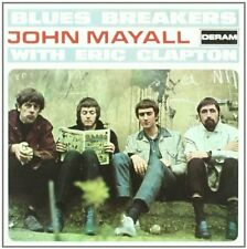JOHN MAYALL WITH ERIC CLAPTON BLUES BREAKERS CD (BLUESBREAKERS)