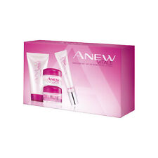 KIT voyage Soin VITALE  JOUR + NUIT + YEUX + NETTOYANT AVON ANEW NEUF
