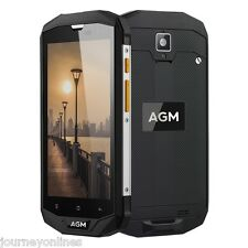 "AGM A8 4G Smartphone Android 7.0 5.0"" Quad Core 1.2GHz 3GB/32GB  IP68 Waterproof"