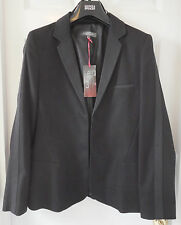 M&S Limited Collection Fully Lined Women SZ 14 Black Blazer, BNWT, Was £59