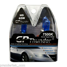 GP Thunder II 7500K H9 Xenon Halogen Light Bulb 65W Super White SGP75-H9