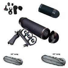 Extended Microphone Shock Mount Blimp Zeppelin Wind Screen Fur Covers Rose Senn