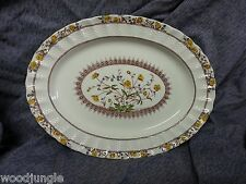 Antique COPELAND SPODE BUTTERCUP OVAL PLATTER ENGLAND Amazing 12.5 inch