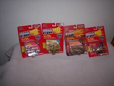 RACING CHAMPIONS - 4 CAR LOT - NASCAR- STOCK RODS - GOLD SERIES - NEW -
