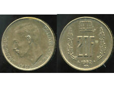 LUXEMBOURG  20 francs 1982