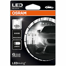 OSRAM W5W 501 LEDriving 6000K Cool White LED Car Bulbs Twin Pack 2850CW-02B