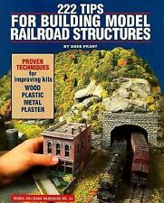 222 Tips for Building Model Railroad Structures (Model Railroader) by Frary, Da