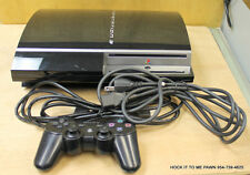 Sony PlayStation 3 80 GB Black Console Bundle CECHK01 PS3
