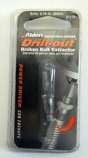 "ALDEN 5/16"" DRILL-OUT BROKEN DAMAGED BOLT SCREW EXTRACTOR 3127P MADE IN USA"