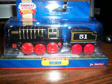 NEW THOMAS AND FRIENDS WOODEN RAILWAY BATTERY-OPERATED HIRO MADE BY FISHER-PRICE