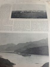 D5-1 Ephemera 1893 Folded 2 Page Article The Bering Sea Arbitration Usa Purchase