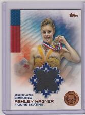 RARE 2014 TOPPS OLYMPIC ASHLEY WAGNER BRONZE RELIC CARD ~ 24/75 FIGURE SKATING