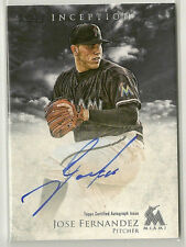 Jose Fernandez Marlins 2013 Bowman Inception Auto Autograph Signed Rookie rC