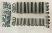 Land Rover Series Stainless Steel Front Door Hinge Bolt Kit Torx Security Head
