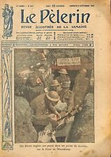 Poste de Secours Red Cross Soldiers Wounded British Army WWI 1917 ILLUSTRATION