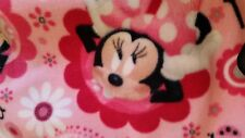 pink Minnie Mouse  baby  toddler car seat  fleece blanket 36x30