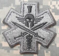 SPARTAN MEDIC TACTICAL EMT 300 COMBAT ARMY ACU VELCRO® BRAND FASTENER PATCH