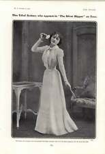 1901 Miss Ethel Sydney Silver Slipper Miss Marie Tempest In Dressing Room
