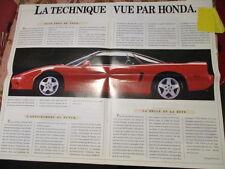 CATALOGUE AUTO : HONDA : SUCCES STORY 25 ANS DE HONDA 1990