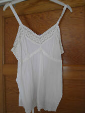 Ladies strappy lace top size 12 BNWT