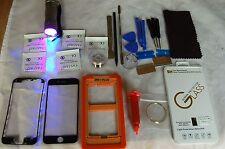 Professionnel Kit de Réparation En Verre Écran Avant, pour iPhone 7 Plus Noir