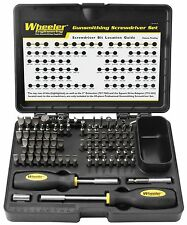 89-Piece Deluxe Gunsmithing Screwdriver Set Tools Kit Black/Yellow, NEW