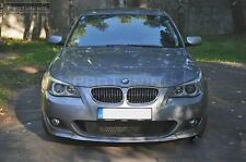 BMW E60 E61 M-Sport Front Bumper spoiler lip chin M sport Power M-Tech splitter