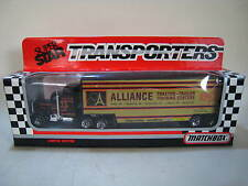 MATCHBOX CONVOY Kenworth Racing Team Transporter ALLIANCE RACING TEAM. MIB/BOXED