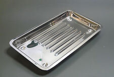3  Surgical Vet  Body Piercing  Instrument Stainless Steel Trays  St Steel CE