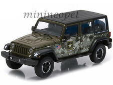GREENLIGHT 86068 2014 JEEP WRANGLER UNLIMITED HARD TOP 1/43 DIECAST US ARMY