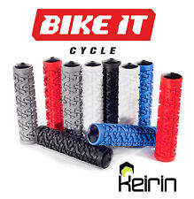 RED HANDLE BAR GRIPS - MOUNTAIN BIKE MTB BMX BICYCLE CYCLING CYCLE SCOOTER 1PR