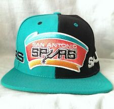 Mitchell and Ness San Antonio Spurs Cap New with Tags Wool Blend Snap Back Hat