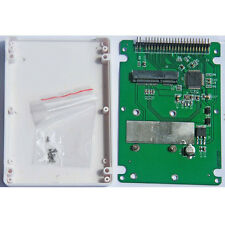 "mSATA to 2.5"" inch IDE mSATA to 2.5"" inch PATA Adapter Card with 9.5mm Case"