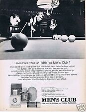Publicité Advertising 026 1966 Helena Rubinstein men's club