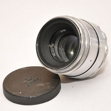 HELIOS 44 2/58 Objektiv M39 SILVER SILBER made in USSR 6004194 M39 ZUSTAND 1A