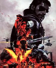 "Metal Gear Solid V 5 The Phantom Pain  Silk Poster Wall Decor 30x36"" MGS26"