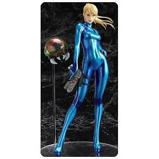 METROID: Other M Licensed 1:8 Samus Aran STATUE Zero Suit w/ Baby Metroid