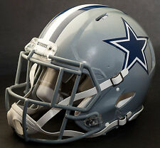 ***CUSTOM*** DALLAS COWBOYS NFL Riddell Full Size SPEED Football Helmet