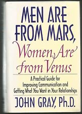 Men Are from Mars, Women Are from Venus: By: JOHN GRAY,Ph.D.,(1992,Hardcover)