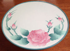 The Tea Rose Collection Cake Plate   NEW