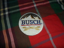 """National Emblem BUSCH BEER Brewery PATCH Sew On 3 1/2"""""""