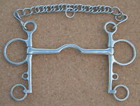 Ported Mouth Pelham - All Sizes - Horse Bit - Bits N Bridles