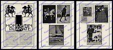 Wilhelm Michel Hohlwein-Plakate Jugendstil Reklame Firmen München Wiesbaden 1910