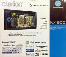 NEW Clarion NX605 2-DIN In-Dash DVD/CD/AM/FM Navigation Car Stereo w/ Bluetooth