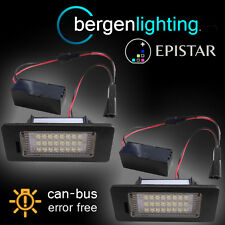 FOR SEAT ALHAMBRA IBIZA 2009 On 24 LED NUMBER PLATE LIGHT LAMP PAIR