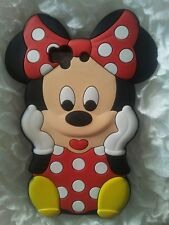 IT- PHONECASEONLINE SILICONE COVER PER CELLULARI S MINNIE RED PARA SONY XPERIA Z