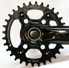 Wolf Tooth Components Drop-Stop Chainring: 32T x 96 BCD, for XTR M9000 Cranks