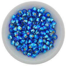 Swarovski Crystal 5328 XILION Bicones 6mm - CAPRI BLUE AB2X (12 PCS)