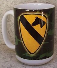 Coffee Mug Military Army 1st Cavalry Division NEW 14 ounce cup with gift box